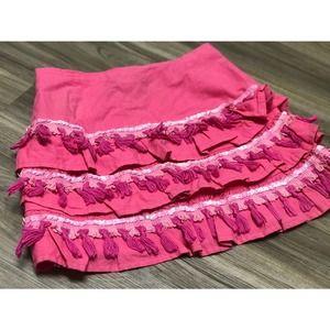 Vtg Jean Street Custom Skirt